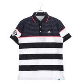 アディダス adidas メンズ ゴルフ 半袖 シャツ JP ADICROSS コンビネーションボーダー S S ポロ M73722
