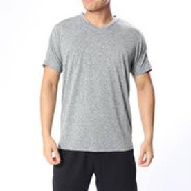 アディダス adidas メンズ 半袖機能Tシャツ MESSENTIALSVネックヘザーTシャツ CX3336