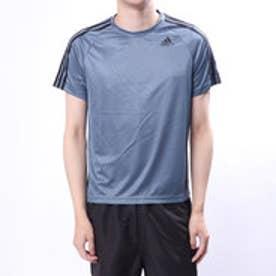 アディダス adidas メンズ 半袖機能Tシャツ D2Mトレーニング3ストライプスTシャツ CE4022