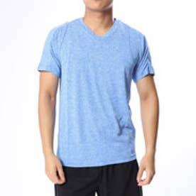 アディダス adidas メンズ 半袖機能Tシャツ MESSENTIALSVネックヘザーTシャツ CX3335