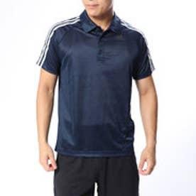 アディダス adidas メンズ 半袖機能ポロシャツ D2M トレーニング3ストライプポロシャツ BP7224