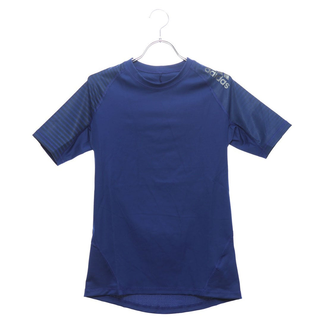 Clothing, Shoes & Accessories Men's Clothing Blue Adidas Alphaskin Sport Mens Short Sleeve Training Top