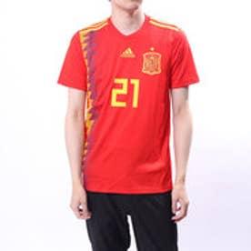 アディダス adidas メンズ サッカー/フットサル ライセンスシャツ スペイン代表 ホームレプリカユニフォーム(シルバ) CX5355