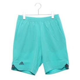アディダス adidas メンズ テニス ハーフパンツ MENRULE#9カラードパンツ CZ0551 (ブルー)