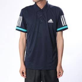 アディダス adidas メンズ テニス 半袖ポロシャツ MENBASE3STRIPEPOLO2 D74645 (ネイビー)