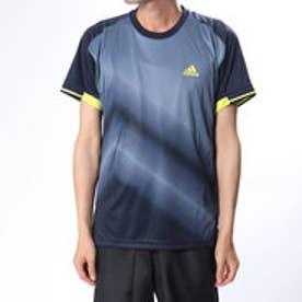 アディダス adidas メンズ テニス 半袖Tシャツ MENRULE#9コートグラフィックTシャツ CZ0550 (ネイビー)