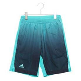 アディダス adidas メンズ テニス ハーフパンツ MENRULE#9コートグラフィックパンツ CZ0559 (ブルー)
