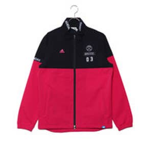 アディダス adidas メンズ ゴルフ 長袖ウインドブレーカー JP adicross エンブレム L/S ウインド U31318