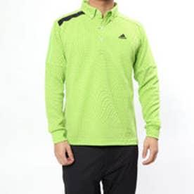 アディダス adidas メンズ ゴルフ 長袖シャツ JP CP ジオメトリックプリント L/S B.D.シャツ U31066
