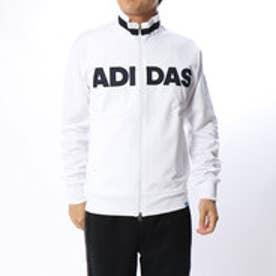 アディダス adidas メンズ ゴルフ 長袖トレーナー JP adicross フロントロゴ L/S フルジップスウエット U31324