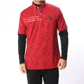 アディダス adidas メンズ ゴルフ セットシャツ JP CP ジオメトリック レイヤードB.D.シャツ U31000