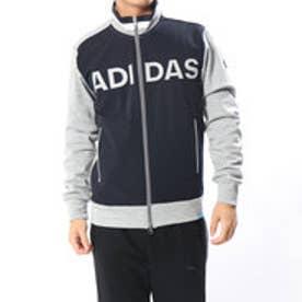 アディダス adidas メンズ ゴルフ 長袖トレーナー JP adicross フロントロゴ L/S フルジップスウエット U31325