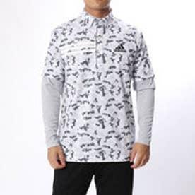 アディダス adidas メンズ ゴルフ セットシャツ JP CP ジオメトリック レイヤードB.D.シャツ U31001