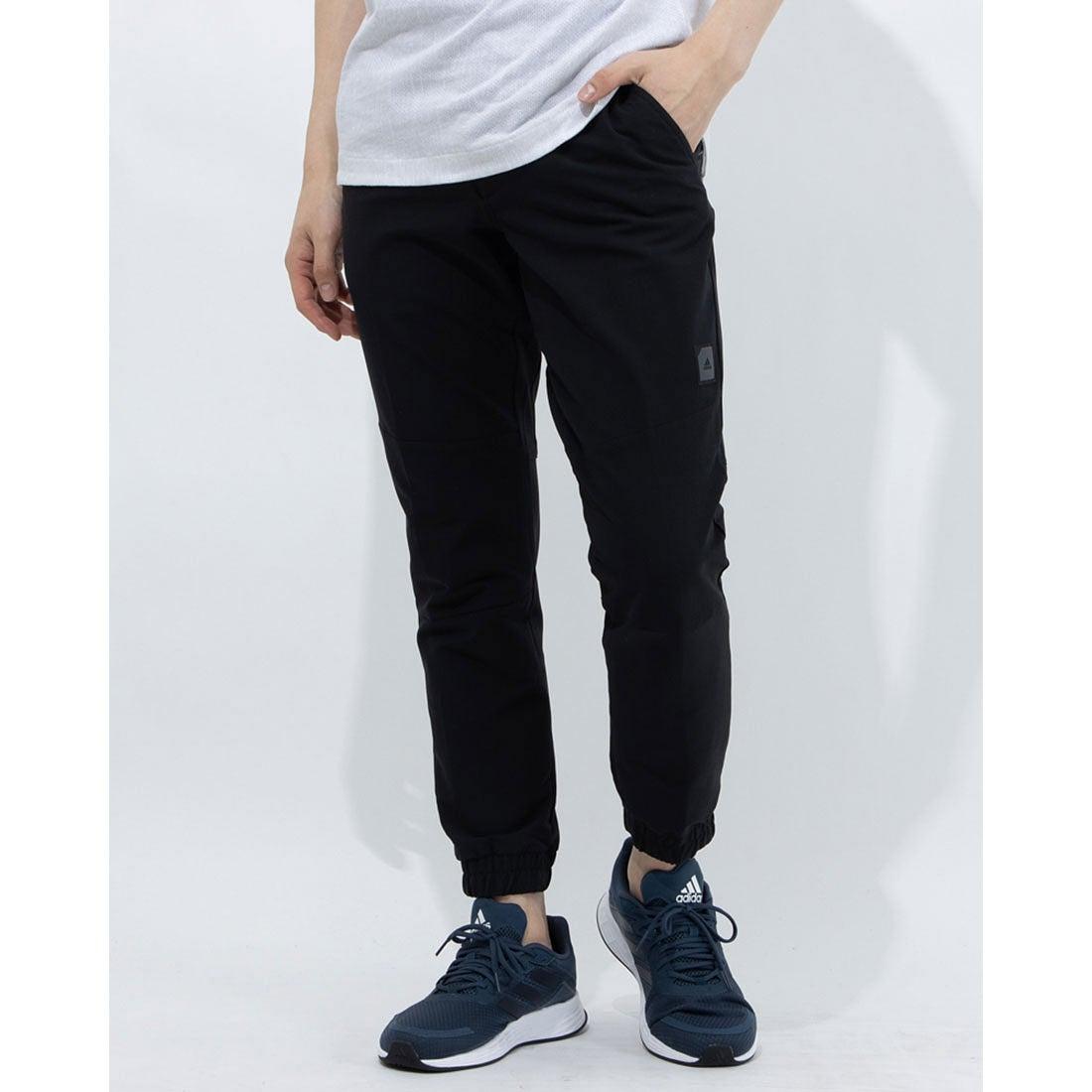アディダス adidas メンズ ゴルフ スラックス ADICROSS ジョガーパンツ GM1203 (ブラック)