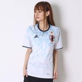 アディダス adidas サッカーレプリカシャツ 日本代表 ナデシコアウェイ レプリカユニフォーム半袖 AA0287 (ホワイト×ナイトネイビー)