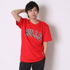 アディダス adidas バスケットボールTシャツ NBAチームロゴ半袖Tシャツ AP0477      (レッド)