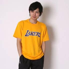 アディダス adidas バスケットボールTシャツ NBAチームロゴ半袖Tシャツ AP0477      (ゴールド)