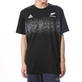 アディダス adidas ユニセックス ラグビー 半袖シャツ オールブラックス グラフィックTシャツ BR0591