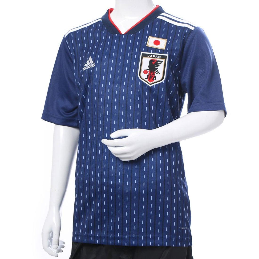 アディダス adidas サッカー/フットサル ライセンスシャツ KidsJFAホームレプリカユニフォームS/S BR3644