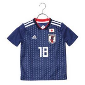 アディダス adidas サッカー/フットサル ライセンスシャツ アディダス サッカーキッズ日本代表ホームレプリカユニフォーム(18番中島翔哉) 8339155048 (ネイビー)