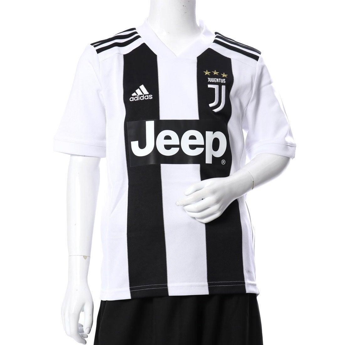 アディダス adidas サッカー/フットサル ライセンスシャツ KIDSユベントスホームレプリカユニフォーム CF3496