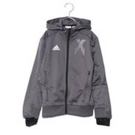 アディダス adidas サッカー/フットサル ジャージジャケット KIDSYBXFZフーディー DJ1257