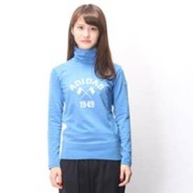 アディダス adidas ゴルフシャツ JP ADICROSS L/S タートルネック CCD66      ブルー (ブルー)
