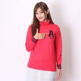 アディダス adidas ゴルフセーター JP ADICROSS L/S タートルネックセーター CCD45      ピンク (ピンク)