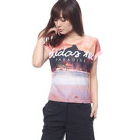 アディダス adidas レディース 半袖Tシャツ HM パラダイスソウガラTシャツ W BP6431