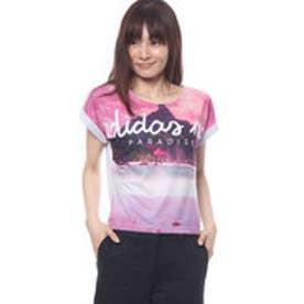 アディダス adidas レディース 半袖Tシャツ HM パラダイスソウガラTシャツ W BP6433