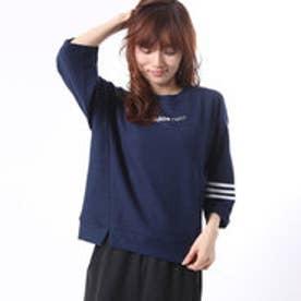 アディダス adidas レディース 長袖Tシャツ CC 7ブソデパイルチョウニット W BQ6251