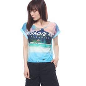 アディダス adidas レディース 半袖Tシャツ HM パラダイスソウガラTシャツ W BK6856