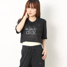 アディダス adidas レディース フィットネス 半袖Tシャツ W M4T TRN カモガラクロップドSS T BK2694