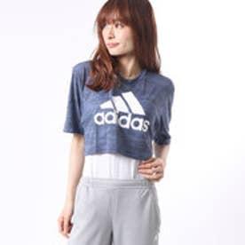 アディダス adidas レディース フィットネス 半袖Tシャツ W M4T TRN カモガラクロップドSS T BK2696