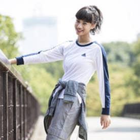 アディダス adidas レディース 長袖Tシャツ W Team カラーブロック TEE 長袖 CD4921