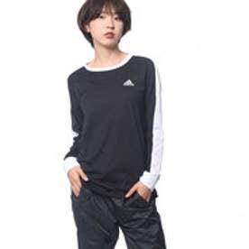 アディダス adidas レディース 長袖Tシャツ W Team カラーブロック TEE 長袖 CD4922