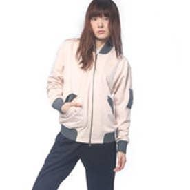 アディダス adidas レディース 長袖ジャージジャケット W 24/7 ファブリックミックス ボンバー ジャージ ジャケット CD4887