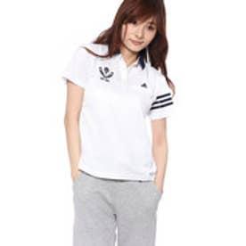 アディダス adidas レディース ゴルフ 半袖 シャツ JP リネンライク S Sポロ M73901