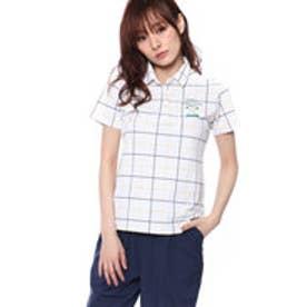 アディダス adidas レディース ゴルフ 半袖 シャツ JP ADICROSS チェックプリント S Sシャツ M73891
