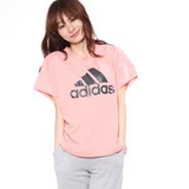 アディダス adidas レディース 半袖機能Tシャツ WビッグロゴS/STEE CX4217