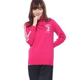 アディダス adidas レディース ゴルフ 長袖セーター JP adicross 3ストライプ タートルネックセーター U31481
