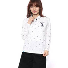 アディダス adidas レディース ゴルフ 長袖シャツ JP adicross モノグラム L/S ラウンドカラーシャツ U31491