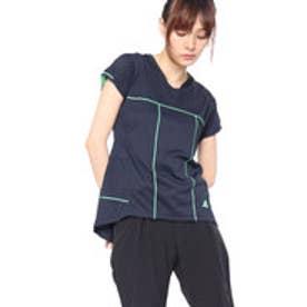 アディダス adidas レディース テニス 半袖Tシャツ WOMENRULE#9GAMETシャツ CZ0577 (ネイビー)