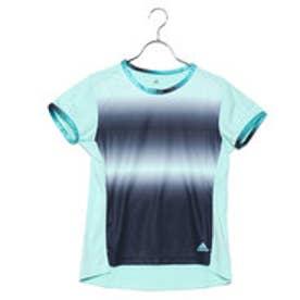 アディダス adidas レディース テニス 半袖Tシャツ WOMENRULE#9グラフィックTシャツ CZ0582 (グリーン)