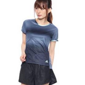 アディダス adidas レディース テニス 半袖Tシャツ WOMENRULE#9グラフィックTシャツ CZ0584 (ネイビー)