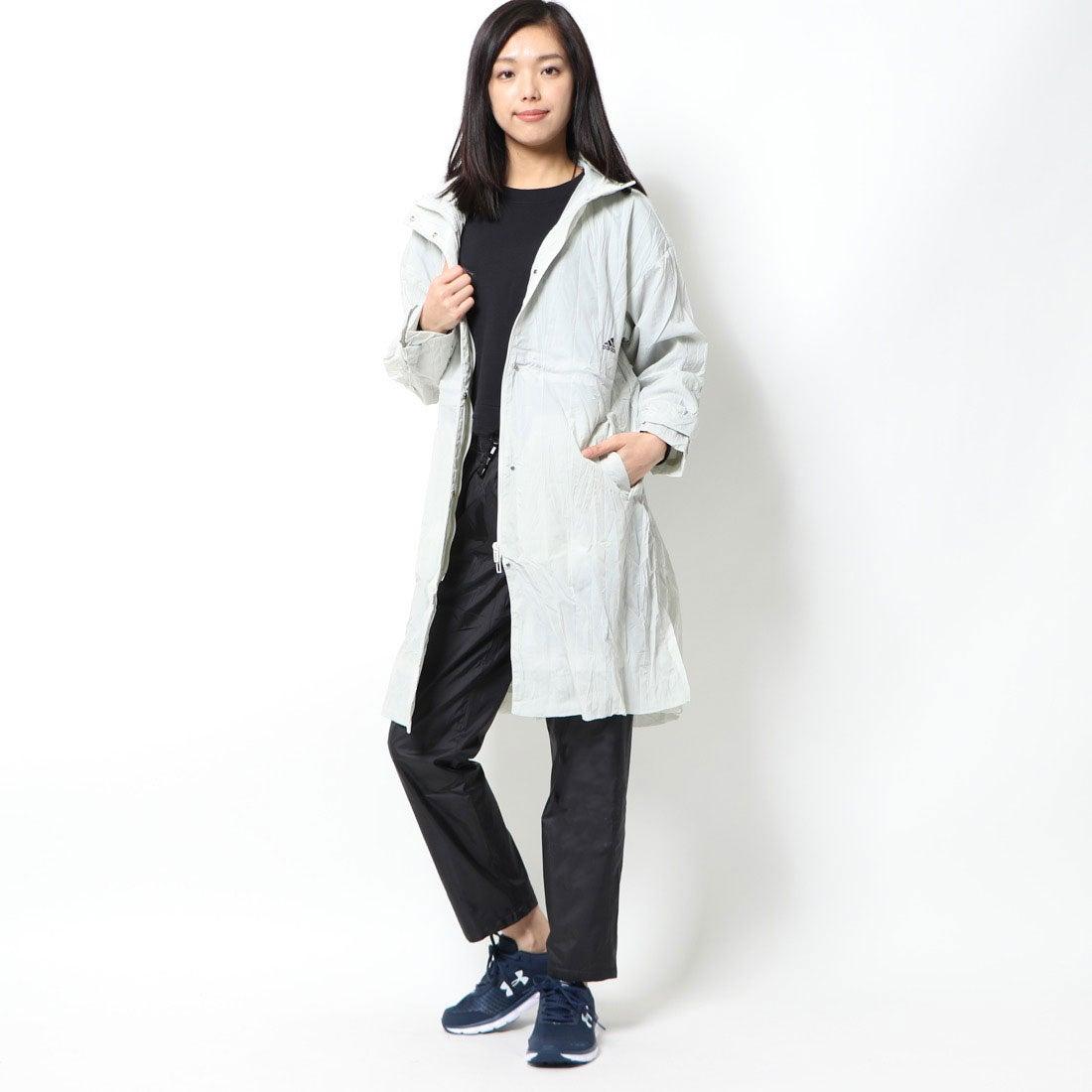 ロコンド 靴とファッションの通販サイトアディダス adidas レディース ウインドフルジップ W STYLE ウーブンロングジャケット FM5183