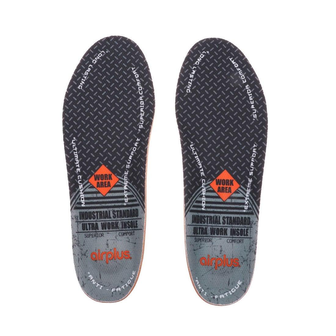 ロコンド 靴とファッションの通販サイトエアープラス airplus メンズ インソール ウルトラワーク男性用 20454 ミフト mift
