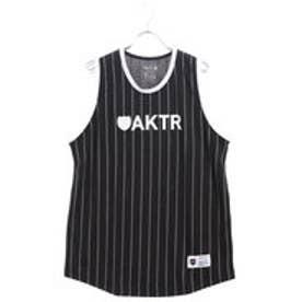 アクター AKTR バスケットボール ノースリーブシャツ BOOTLEG PINSTRIPE TANK 118-069001