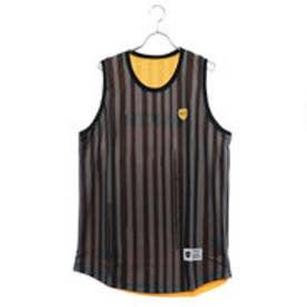 アクター AKTR バスケットボール ノースリーブシャツ BRUSH STRIPE REVERSIBLE TANK 218-057001