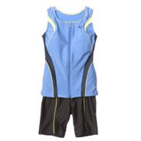 アリーナ ARENA レディース 水泳 フィットネス水着 大きめカラースナップ付きセパレーツ LAR-7241W【返品不可商品】